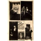 Liddel Brothers Puppet Show Real Photo