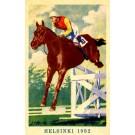 Olympics 1952 Helsinki Horse in Jump