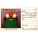 Frozen Players Advert Billiards Pool Tables