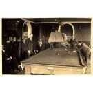 People Playing Billiard at Home Real Photo