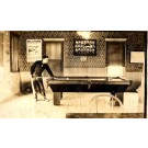 Billiards Player by Table Real Photo