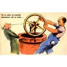 Using Well Wheel to Pull Tooth Dental Comic