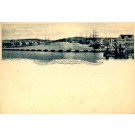 Dutch West Indies Curacao Port Steamer