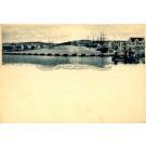 Dutch West Indies Curacao Port Steamer