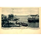 Dutch West Indies Curacao Entrance of Port Boats