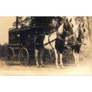 VT Horse-Drawn Watkins Remedies Wagon RP
