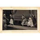Woven Silk Fencing Ladies