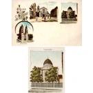 Schletistadt Germany Synagogue Gruss Aus