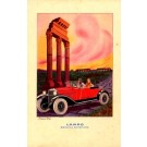 Advert Gasoline Couple in Auto Italian