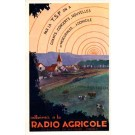 Radio Waves Agriculture Advert French