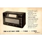 Advert A Lux Model L X4604 Radio RP