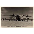Imperial Flying Boat at Singapore RP