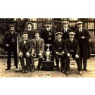 Quoit Team with the Challenge Cup RP