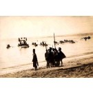 Carnival Landing of the Boats 1914 Real Photo