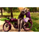 Kiss to the Head on the Motorcycle RP