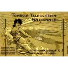 Girl with Telegram by Telegraph Wires Italian