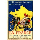 Advert Tire Chain Motorcycling Family French