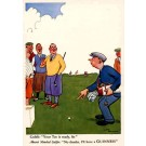 Laughing Golf Players Advert Beer Guinness