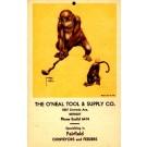 Golf Playing Monkeys Advertising