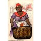 Black with Laundry Basket Advertising Novelty