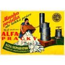 Advert Alfa-Separator Laundry Czech