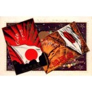 Hand with Flag Art Nouveau Japanese