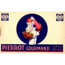 Pierrot Advert Chocolate Confection Novelty