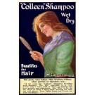 Advert Shampoo Lady Irish