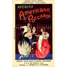 Advert Vermouth Cigarette French Cappiello