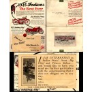 Advert 1925 Indian Motorcycle Chief