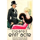 Advert Cigar Couple French