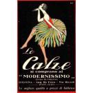Advert Stockings Dance Italian