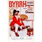 Advert Tonic Byrrh Artist Palette French