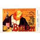 Advert Tonic Byrrh Cigarette French Poster