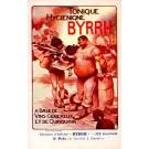 Advert Tonic Byrrh Weight Lifter Poster