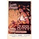 Advert Tonic Byrrh Dance Poster French