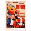 Advert Tonic Byrrh Flags Poster French