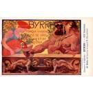 Advert Tonic Byrrh Strongman Poster