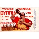 Advert Tonic Byrrh Drinking French