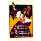 Advert Alcohol Lady French