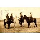Cow Ladies Horses Real Photo KS