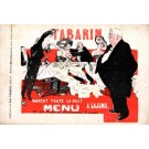 Advert Restaurant Tabarin French