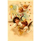 Angels Lyre Easter Hold-to-Light Novelty