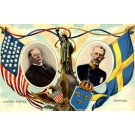 President Taft Swedish King SOL