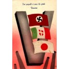 Fascist Flags WWII Novelty Italian