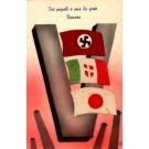 Fascist Flags WWII Novelty Italian