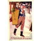 Santa Claus Uncle Sam Novelty