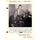 Count Basie Advert Mike-Shot Radio