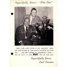 Count Basie Advert Mike-Shot Radio