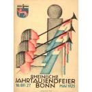 Rhein Jubilee 1925 Germany